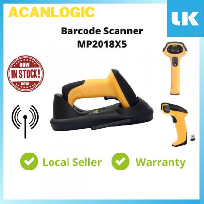 Acanlogic Wireless Barcode Scanner MP2018X5